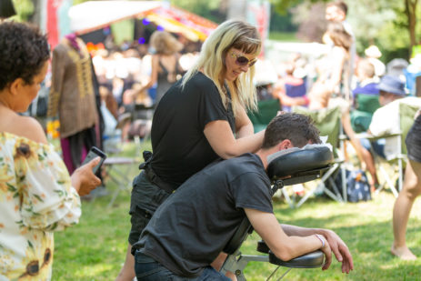 Massage at Mostly Jazz Funk & Soul Festival, Birmingham