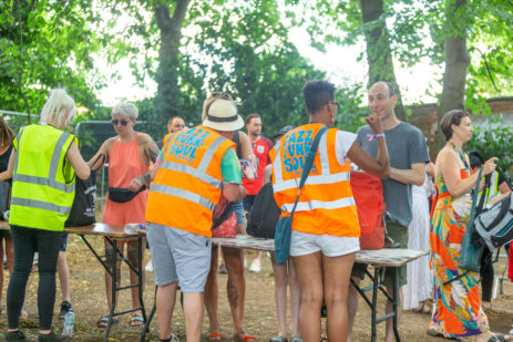Volunteers at Mostly Jazz Funk & Soul Festival, Birmingham